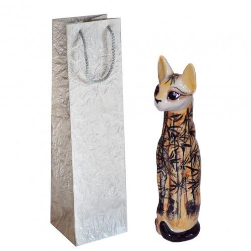 Статуэтка в виде кошки Бамбуковая роща