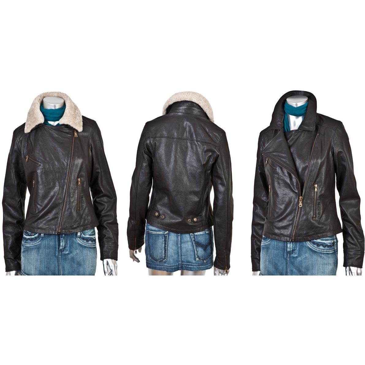 Женская кожаная куртка Calvin Klein Jeans