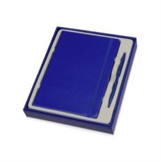 Синий набор для записей Альфа формата А5