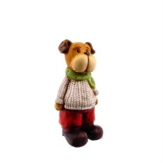 Декоративная фигурка Собака в одежде