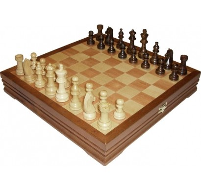 Шахматы классические средние (деревянные)