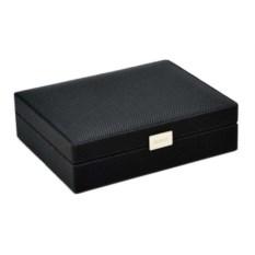 Черная шкатулка для запонок LC Designs