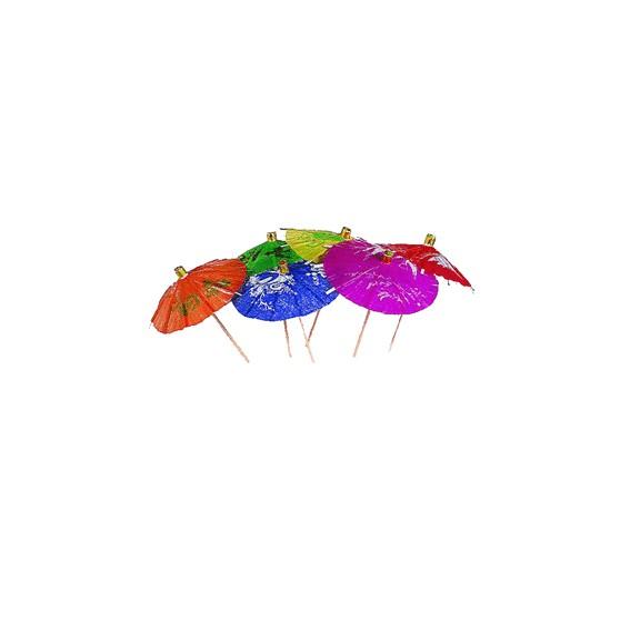 Зонтики для коктейлей на палочках Декоративные