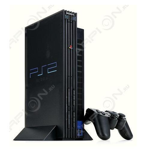 Игровая консоль SONY PlayStation 2 Charcoal Black