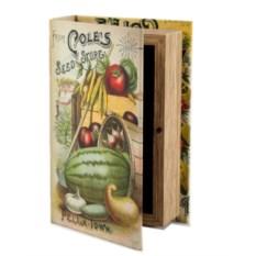 Шкатулка-фолиант «Кладовая садовода»