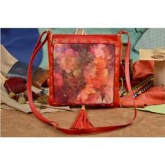 Женская сумка-планшет Elole Design Красивые цветы