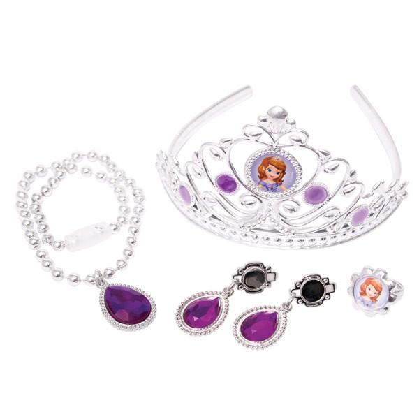 Набор с короной и украшениями Disney из серии София