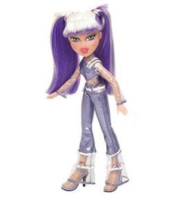 Кукла Братц «Живой Концерт» (фиолетовая)