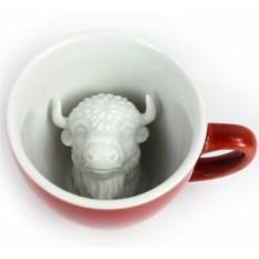 Кружка с бизоном