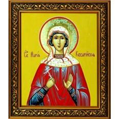 Икона на холсте Мария Кесарийская мученица