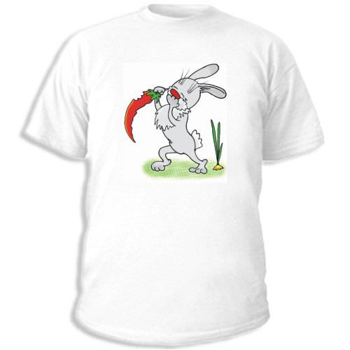 Футболка «Заяц с перцем»