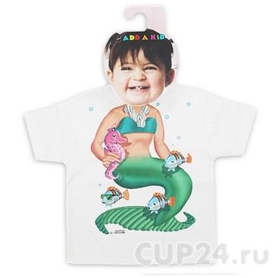 Детская футболка Русалочка