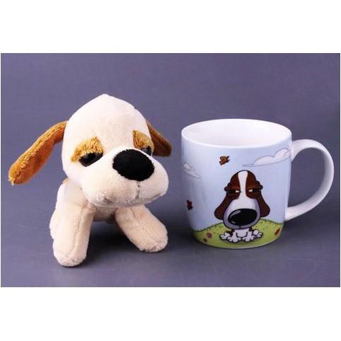 Кружка и игрушка «Пёсик»