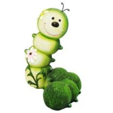 Декоративная садовая фигура Гусеница-Красотка