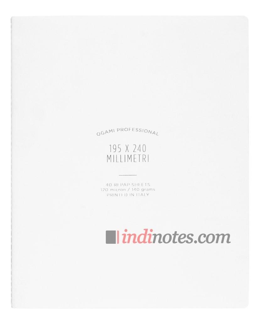 Записная книжка Ogami Professional Large White Softcover