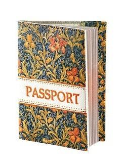 Обложка для паспорта из кожи «Благоухание»