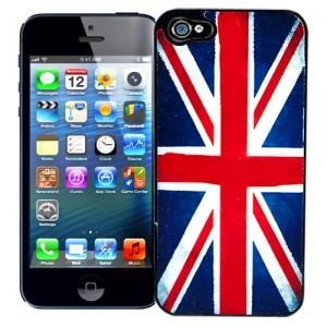 Чехол для iPhone 5 Union Jack из серии Capitals