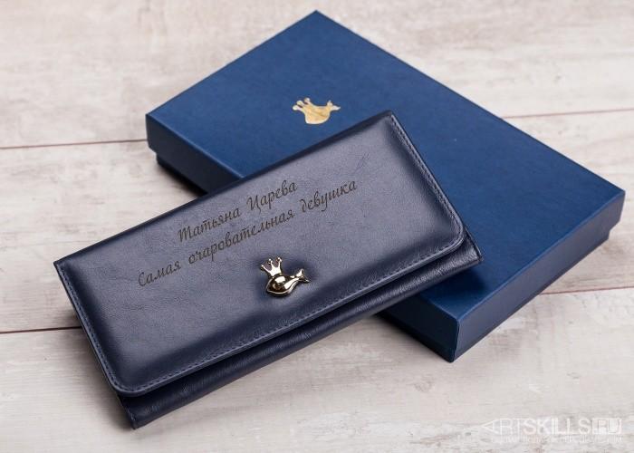 Женский кошелёк Золотая рыбка