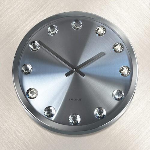 Часы настенные Кристальное время*