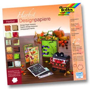 Альбом дизайнерской бумаги «Осень»