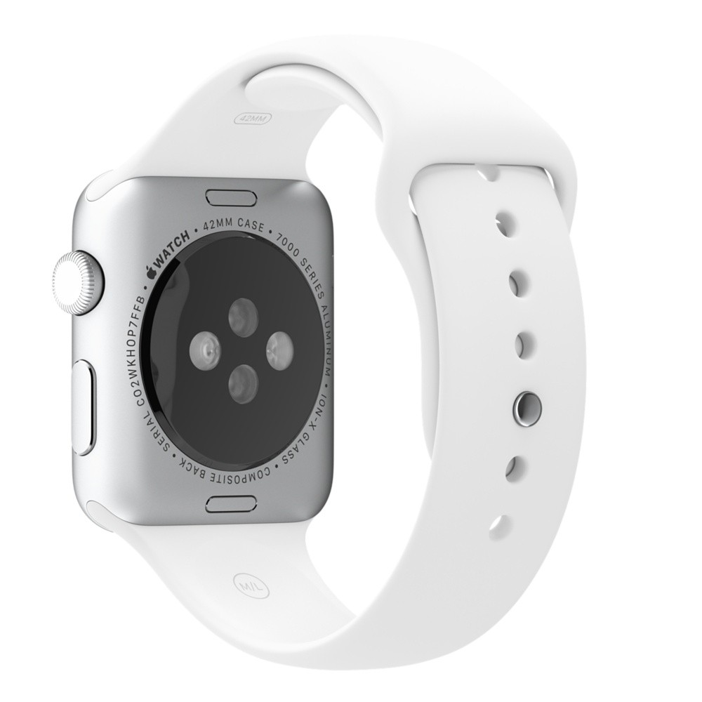Ремешок White Sport Band для Apple Watch