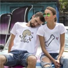 Парные футболки «Сладкая косточка»