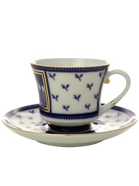 Чайная чашка с блюдцем Первый садовый мост