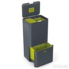 Контейнер для сортировки мусора totem 60 л (цвет: графит)