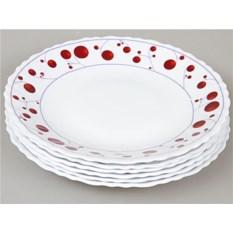 Набор плоских тарелок Rosenberg (6 штук, 20 см)