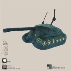 Плюшевая игрушка танк ИС - 7
