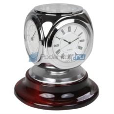 Прибор настольный Куб (часы, термометр, гидрометр)