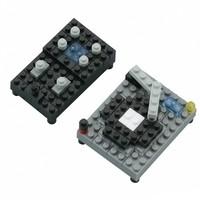 Мини-конструктор Nanoblock DJ-сет, 90 элементов