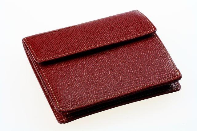 Кошелек Porshe Design F6, светло-бордовый