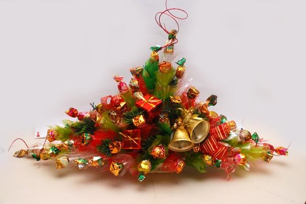 Букет из конфет Праздничное настроение