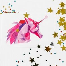 Татуировка переводная Sasha Unisex Glowing Unicorn
