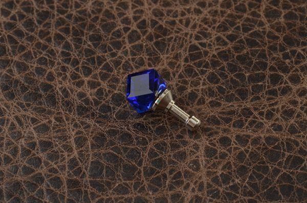 Брелок для телефона/планшета Precious (синий)