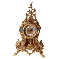Часы из бронзы с маятником Луис, цвет золотой
