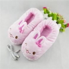 Тапочки с подогревом USB Подмигивающий кролик