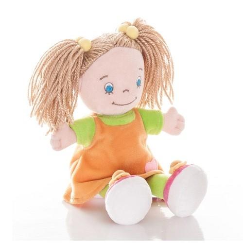 Кукла Aurora Кукла-девочка в оранжевом платье