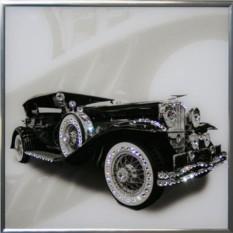 Картина Ретро авто (с кристаллами Сваровски)