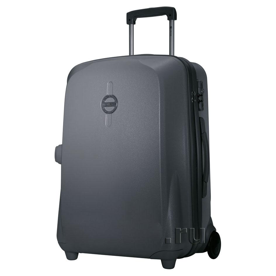 Пластиковый чемодан-тележка 65 см Carlton Eclipse