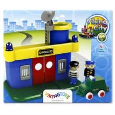 Игровой набор «Полицейская станция» от Viking Toys