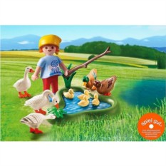 Конструктор Playmobil Country Утки и гуси на пруду