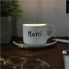 Светильник Чашка кофе Merci с активацией голосом