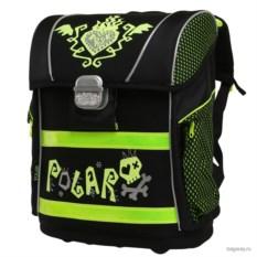 Черный ранец Polar School