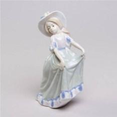 Декоративная фарфоровая статуэтка Ванесса
