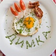 Именная открытка Вкусный Завтрак