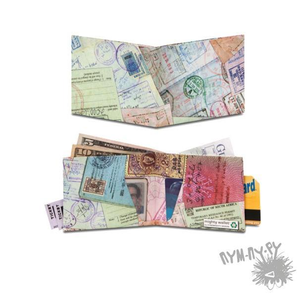 Ультратонкий бумажник Паспорт