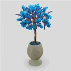 Дерево из бирюзы Бирюзовый стиль