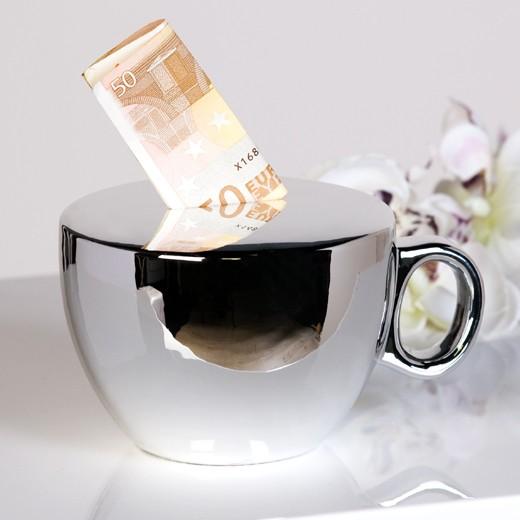 Копилка-статуэтка Чашечка кофе